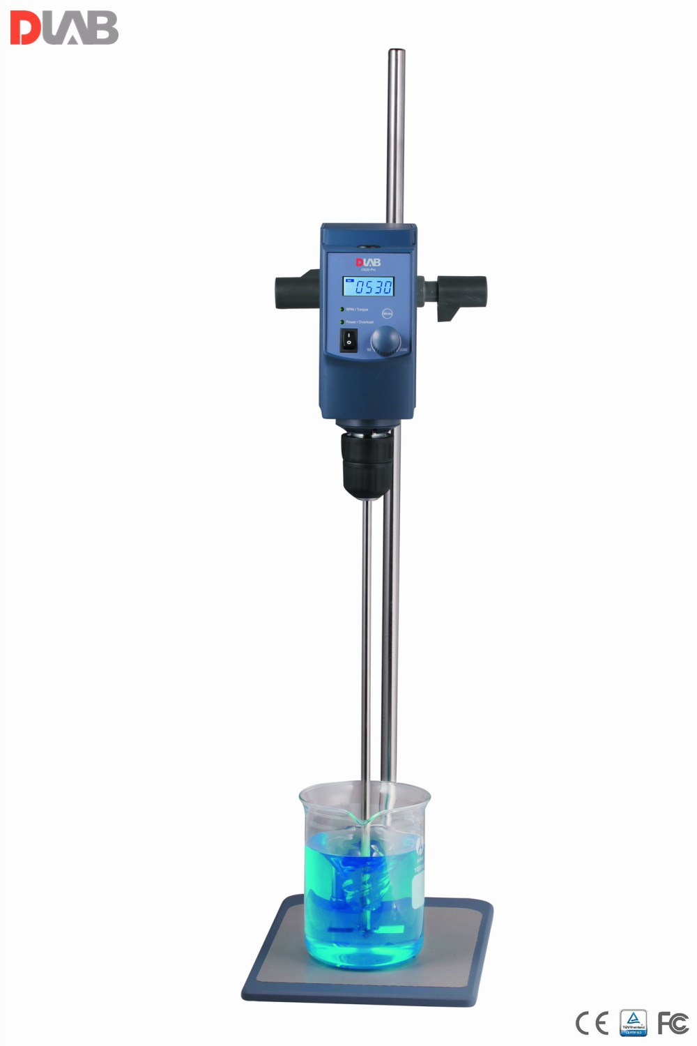 Overhead Stirrer OS20-Pro LCD Digital Enhanced Magnetic Stirrer Max.stirring Quantity 20L With Plate Stand & Propeller Stirrer