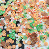 20g/Lot Polymer Clay Christmas Deer Tree Ginger Bread Man Cane Sprinkles Lovely Confetti for Crafts Making, DIY