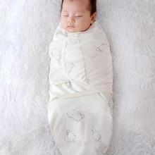 Sleeping-Bag Newborn Envelope Swaddle Wrap Cocoon Soft Baby 100%Cotton 0-6 Months