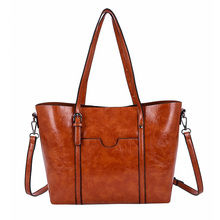 Large shoulder bag handbag Messenger PU fashion gg casual designer large capacity lady 9110