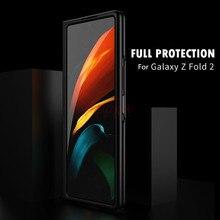 Dành Cho Samsung Galaxy Samsung Galaxy Gấp Gọn 360 Bảo Vệ Đầy Đủ Mờ PC Cứng Lưng Bảo Vệ Nắp Lưng Điện Thoại Dành Cho Samsung Galaxy Samsung Galaxy Z Gấp Gọn 2 Ốp Lưng 5G