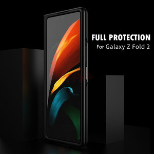 Image 1 - Voor Samsung Galaxy Fold Case 360 Volledige Bescherming Matte Hard Pc Back Beschermende Telefoon Cover Voor Samsung Galaxy Z Vouw 2 5G Case