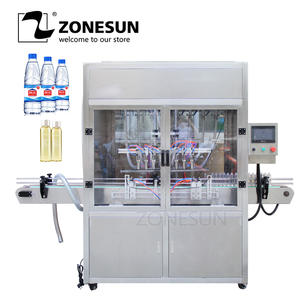 ZONESUN Filling-Machine Beverage-Production-Line Beer Perfume Pneumatic Milk-Oil Drinking-Water