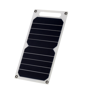 Image 5 - LEORY 5V 10W DIY Portable Solar Panel Camping Slim Light USB Charger Charging Power Bank Pad Universal For Phone Lighting Car