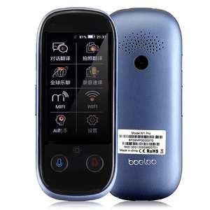 Image 2 - Boeleo w1 pro tradutor de viagem instantânea ai voz tradutor global sim 4g wifi bluetooth 1 + 8g 117 idioma foto tela sensível ao toque