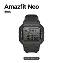 Amazfit neo relógio inteligente 28 dias bateria vida bluetooth smartwatch 3 modos de esportes 5atm pai assistente saúde para android ios telefone