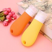 Cosmetic-Containers-Bottles Travel-Bottle Silicone Portable for Shampoo Body-Lotion 1-Pc