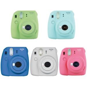 Image 5 - كاميرا Fujifilm Instax Mini 9 للطباعة الفورية على الصور مع 40 ورقة فيلم مصغر كاميرا الكتف حزام حقيبة الملحقات حزمة