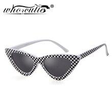 WHO CUTIE 2019 Fashion Cat Eye Sunglasses