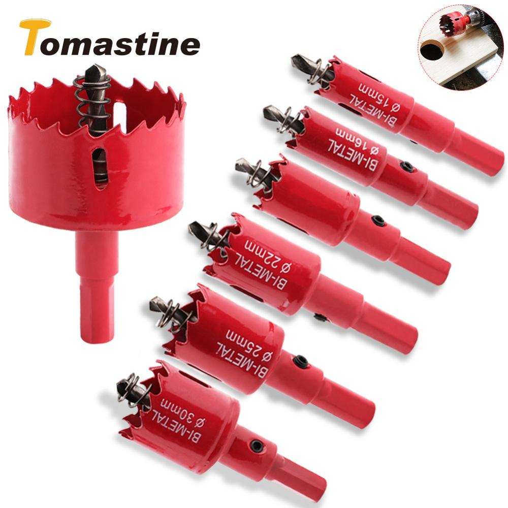 1 Pcs Hole Saw Drill Bit Cutter Metal Twist Drill Bits M42 HSS Steel Drilling Kit Opener Carpentry Tools Hole Saw For Wood Steel