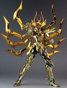 Image 5 - במלאי GreatToys EX סרטן Deathmask Saint Seiya מתכת שריון מיתוס בד זהב Ex פעולה איור