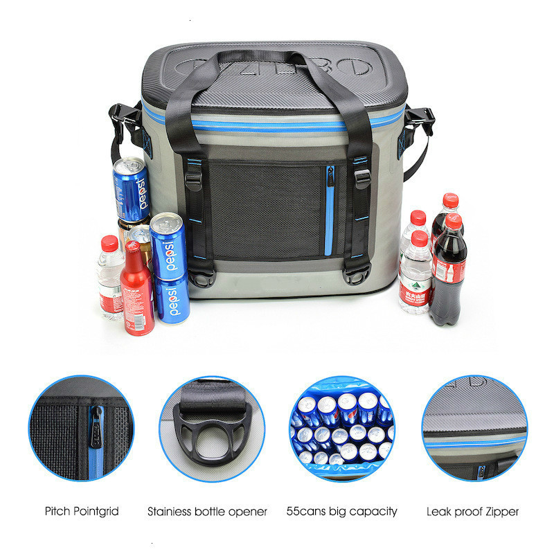 Fresh Protect Cooler Bag Outdoors Travel Picnic Ice Bag Ice Package High Quality Ice Bag Cold Beer Drink Heat Preservation Bag
