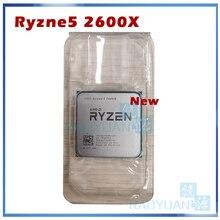 AMD Ryzen 5 2600X R5 2600X 3.6 GHz שש ליבות עשר חוט 95W מעבד מעבד YD260XBCM6IAF שקע AM4