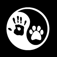 Dog Hand Car Sticker 6