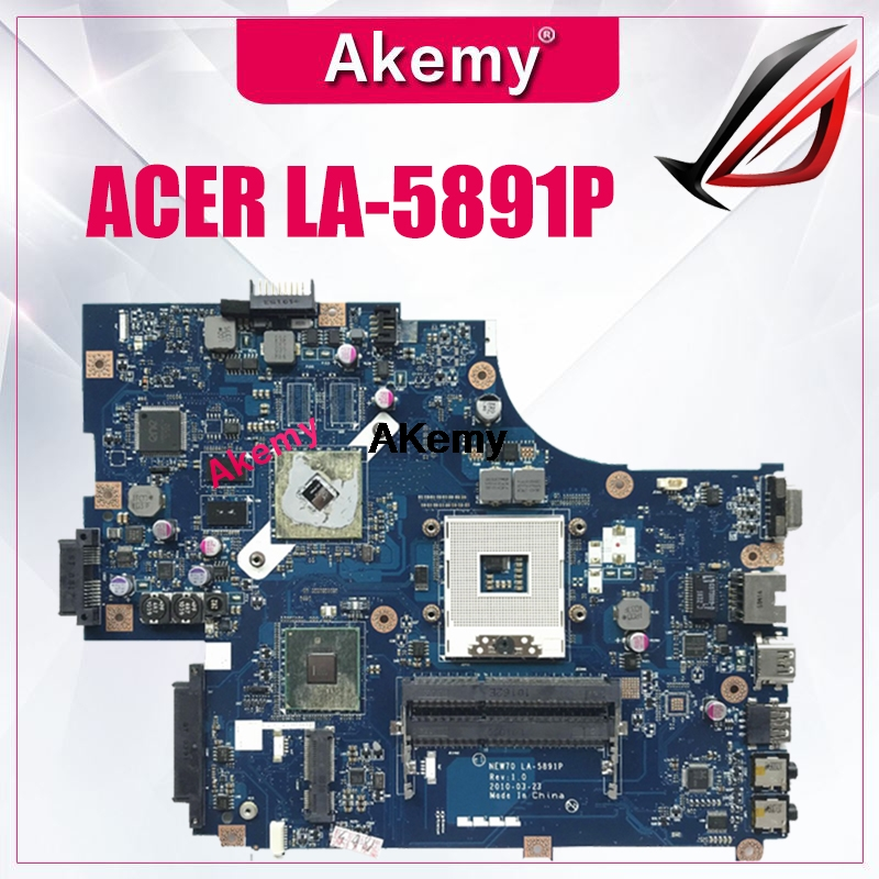 MBR5402001 NEW70 LA-5891P For ACER 5741 5741G Laptop Motherboard Mainboard With ATI Video S988A HM55 WORKS