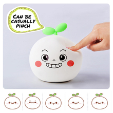 Silicone Night Light Touch Sensor Control USB Powered LED Cartoon Lamp For Children Baby Kids Bedside Bedroom gift nightlights