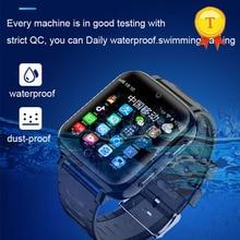 新到着ip68 リアル防水水泳スタイル 4 グラム子供スマートウォッチsimカードgps sos wifiアンドロイドスマートgps腕時計の少年少女
