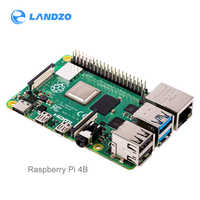 Nuovo Raspberry Pi 4 Modello 4B B BCM2711 quad-core Cortex-A72 1.5GHz 1 GB/2 GB/ 4GB di RAM con dual band WIFI Bluetooth supporto PoE