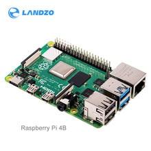 Raspberry pi placa, oficial raspberry pi 4 modelo b 2gb/4gb/8g bcm2711 quad-core Cortex-A72 1.5ghz com banda dupla wifi bluetooth