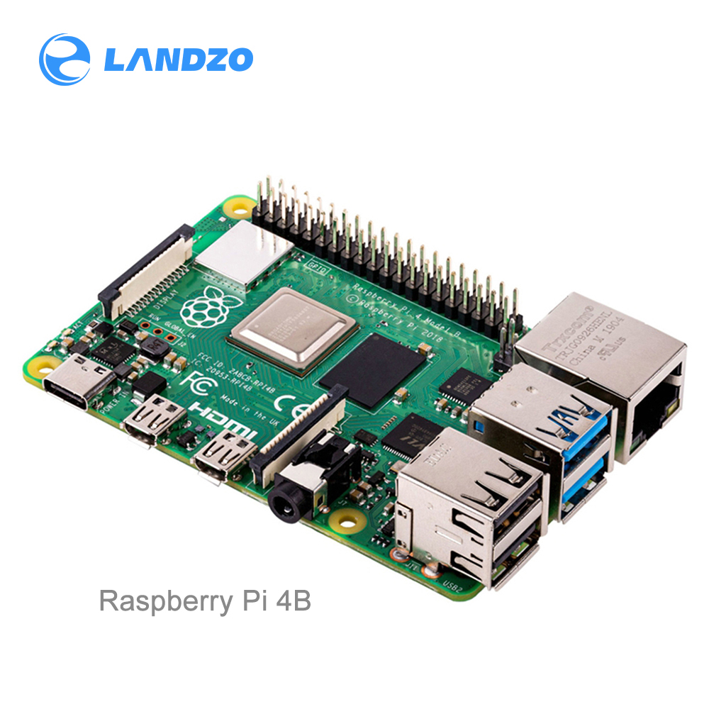 Raspberry Pi 4 Model 4B B BCM2711 Quad-core Cortex-A72 1.5GHz 1GB/2GB/4GB RAM With Dual Band WIFI Bluetooth Support PoE