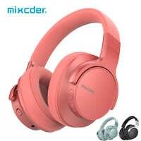 Mixcder E7 casque sans fil anti-bruit actif casque Bluetooth V5.0 charge rapide casque ANC pour téléphone