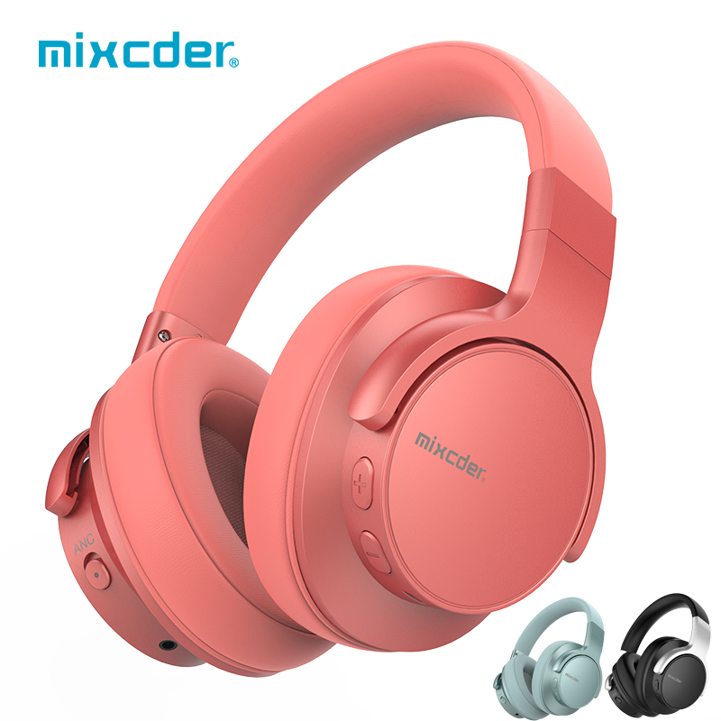 Mixcder E7 Wireless Headphones Active Noise Cancelling Bluetooth Headphone V5.0 Fast Charging ANC Headset for Phone