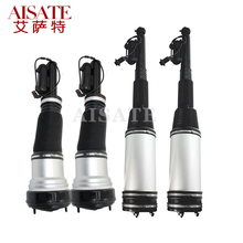 4pcs/set Front Rear Pneumatic Shock Absorbers for Mercedes Benz W220 S320 S350 S430 S500 Air Suspension Air Spring Strut for mercedes benz w220 s280 s320 s430 s600 rear shock absorber repair kits air suspension spring oem 2203205013 2203202338