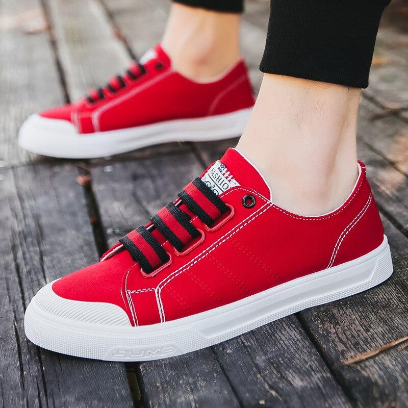 2019 Men's shoes sneakers summer shoe board shoe canvas shoe casual shoe han edition fashionable shoe breathes freely Yasilaiya