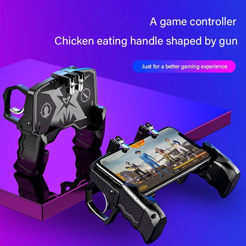 Game Artifact Mechanical Keys Universal Multi-function Game Handles Physically Assisted Compatible with Various Mobile Games