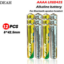 12pcs/lot 1.5V LR8D425 AAAA alkaline batteries primary batteries for Bluetooth speaker headset laser pen touch pen dry batteries(China)