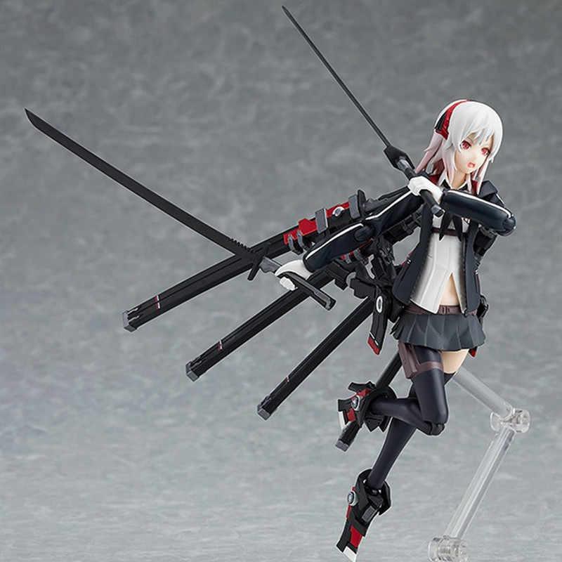 14cm 422 # fortement armé lycée filles 4 Anime figure sexy fille étudiant PVC action figure collection modèle jouet cadeau