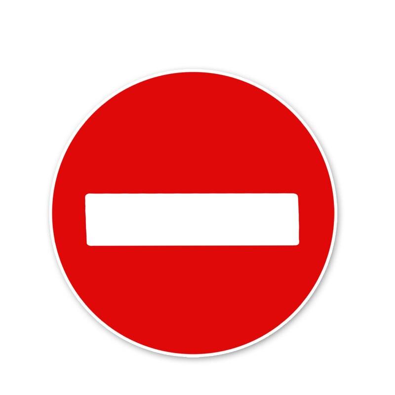 Nalepka ostrzegawcza zwróć uwagę na bezpieczeństwo ruchu znaki samochodowe naklejki akcesoria, 12CM * 12CM