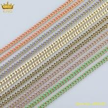 Радужные эмалированные бусины 5 м/лот 8 мм фурнитура из цепочек