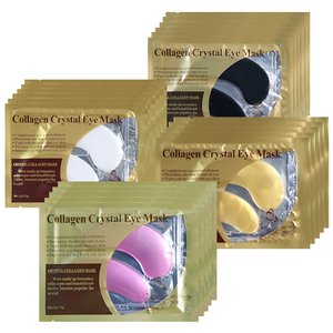 Collagen Eye Mask Gel Patches Under the Eyes Care Relief Fatigue Puffiness Circles Dark Anti Wrinkle Moisturizer Face Sheet Mask