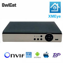 Dvr 8CH 4CH Cctv Recorder Voor Cvbs Xvi Tvi Cvi Ipc Ahd 6in1 Hybrid Dvr Onvif P2P 1080P Video surveillance Dvr Recorder Griffier(China)