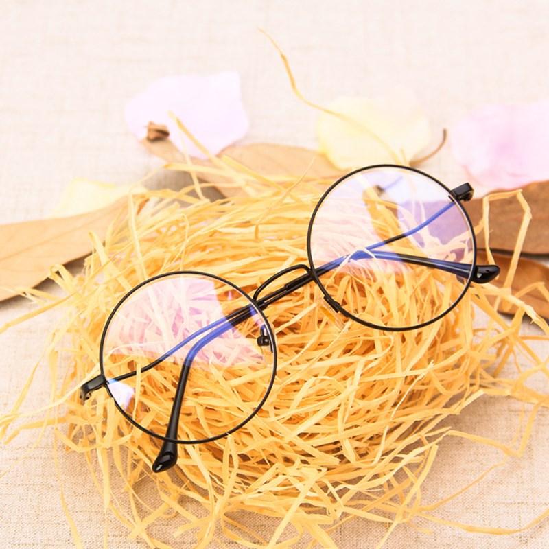 Новый модный винтажный анти-синий светильник, круглые очки для мужчин и женщин, металлическая оправа, очки для компьютера, очки для глаз 2020