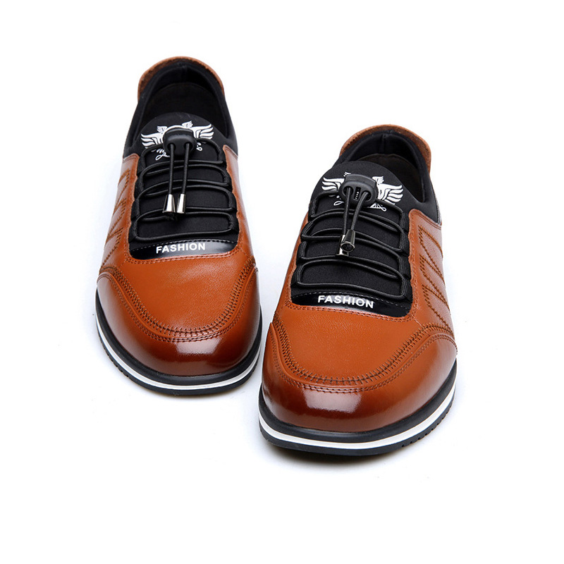 Image 4 - 2019 Fashion Cow Genuine Leather Shoes Men Casual Slip on Driving Runing Men Loafer Black Luxury Men's Shoes Sneakers Moccasins-in Men's Casual Shoes from Shoes