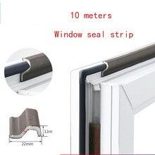 10M auto-adhésif fenêtre joint bandes mousse bande étanche à la poussière bande d'étanchéité isolation phonique porte bande de caoutchouc