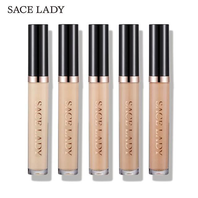 SACE LADY Full Cover Pro Concealer Cream Makeup Face Corrector Liquid Make Up Base For Eye Dark Circles Facial Natural Cosmetic 5