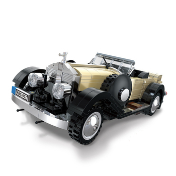 Racers Rolls car Roycely Creator Racing Car classic model Building Blocks Compatible with Technic kids Toys for Children gifts yile 006 caterham seven 620r building blocks model compatible 21307 racing car toys for children