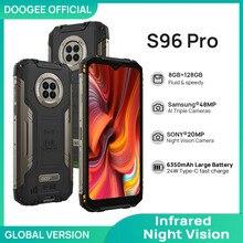 DOOGEE S96 Pro Waterproof Rugged Phone 48MP Round Quad Camera 20MP Infrared Night Vision Helio G90 Octa Core 8GB+128GB 6350mAh