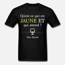 Hommes t-shirt Qu est Ce That Is Jaune And That Assister Mon Ricard Femmes t-shirt