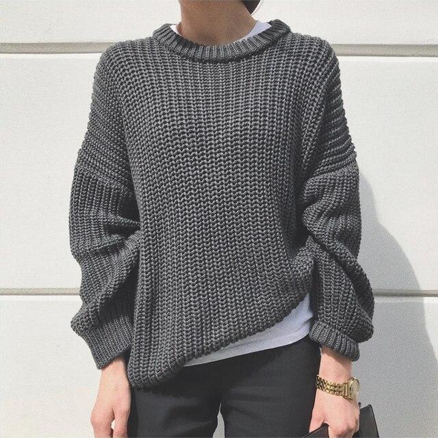 Elegant Oversized Sweater for Women