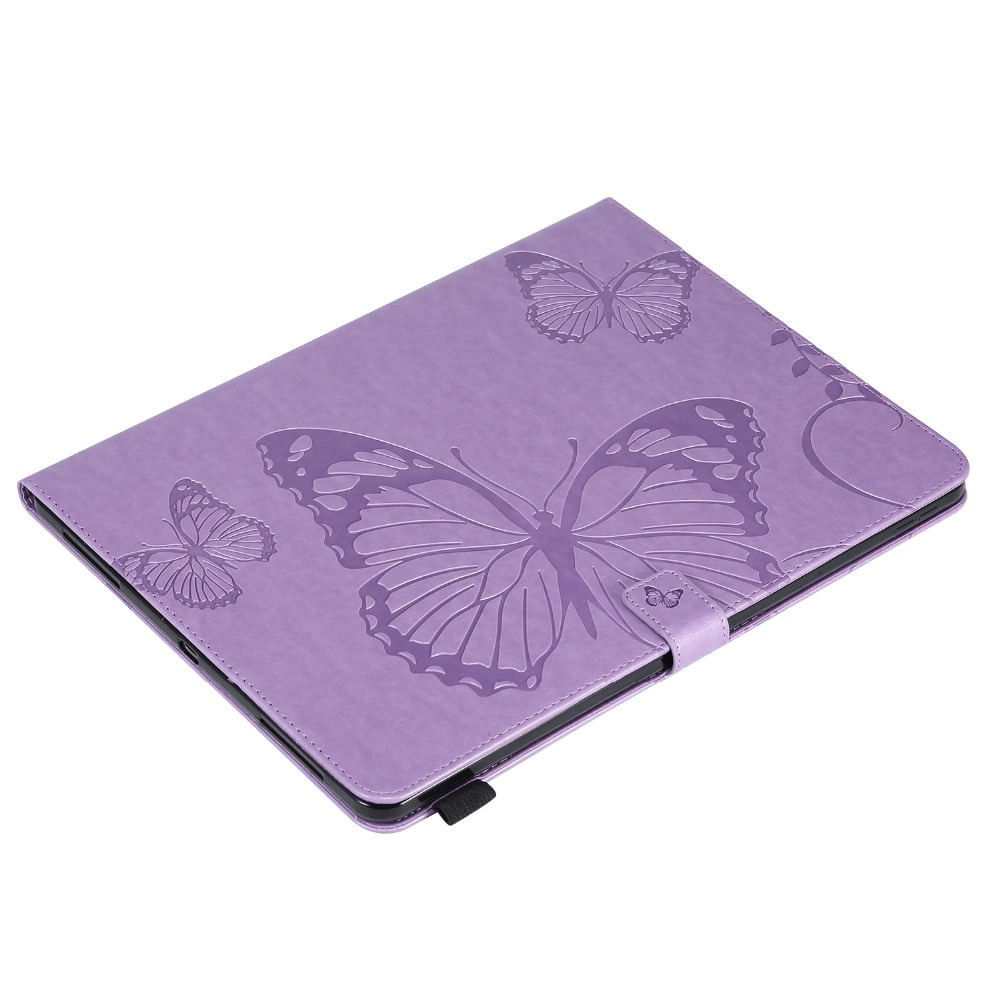 Folding For Butterfly Case 2018 2020 Fundas Tablet iPad Pro Embossed 12.9 Cover Folio