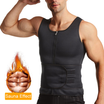 sauna vest waist trainer for men