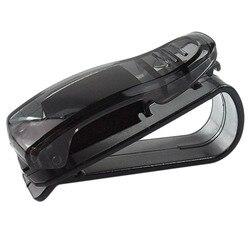Gorąca sprzedaż Auto łącznik Auto akcesoria ABS samochodów pojazd osłona przeciwsłoneczna okulary okulary okulary uchwyt na bilety klip|Etui na okulary|   -