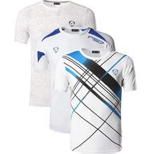 Jeansian 3 Pack Mens Tshirt T-Shirt Tee Shirt Sport Dry Fit Short Sleeve Running Fitness Workout LSL133-185-3209-White