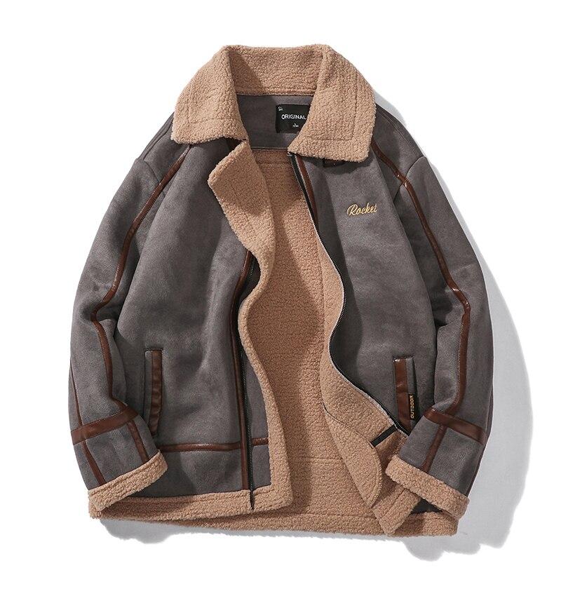 H13a6dd790c9a43edb03ce57a15289249u Men Autumn Casual Warm Fleece Military Leather Jackets Parkas Men Winter Windproof Waterproof Outwear Parka Coat Jackets Men