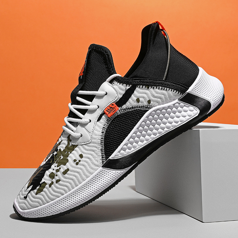 Street Trend Running Shoes Men High Quality Comfortable Outdoor Men Jogging Sports Shoes Light Breathable Non-slip Man Sneakers