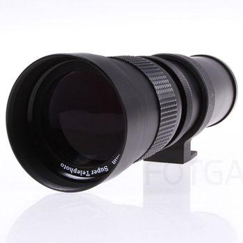 420-800Mm F/8.3-16 Telephoto Zoom Lens For Canon Nikon Pentax Sony Dslr Cameras